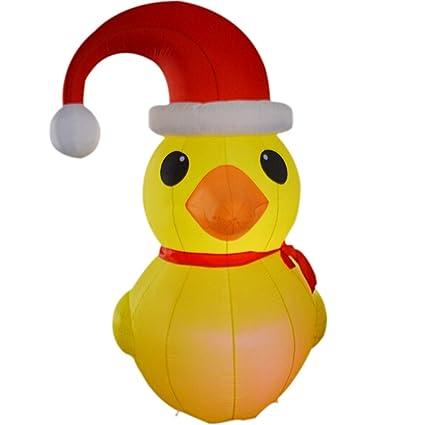Christmas Duck.Amazon Com Sayok 6 56ft Inflatable Christmas Duck