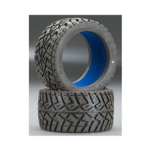 J Concepts 305600 Yellow Compound Tire/Insert