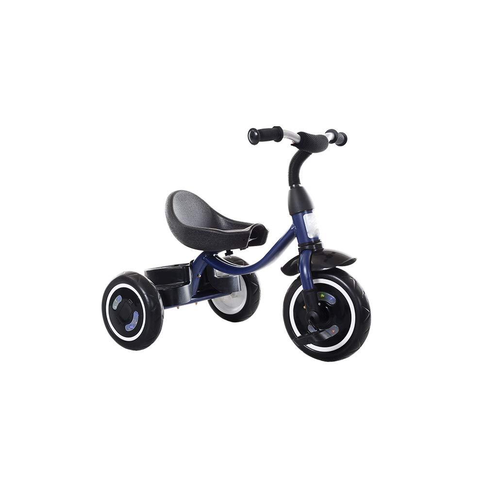 oferta especial  2 Triciclo para niños bicicleta bebé de de de 1 a 6 años de edad, cinturón de juguete grande, cochecito de bebé  precioso