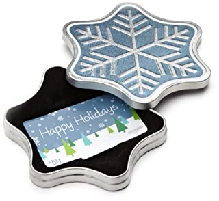 Amazon.com $50 Gift Card in a Snowflake Tin (Happy Holidays Card Design) (B0091JKU5Q) | Amazon price tracker / tracking, Amazon price history charts, Amazon price watches, Amazon price drop alerts