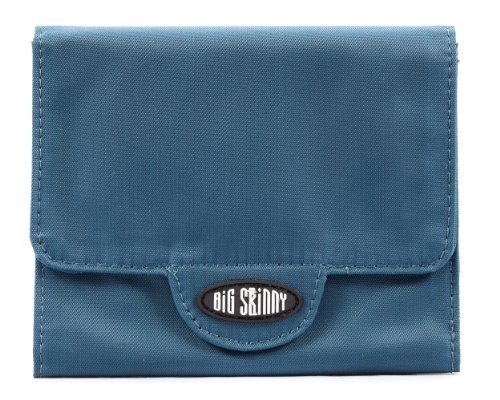 Big Skinny Women's Trixie Tri-Fold Wallet, Holds Up to 30 Cards, (Big Skinny Wallet)