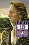 Early Mormon Documents, , 1560851333