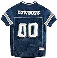 NFL Dallas Cowboys Dog Jersey, Large