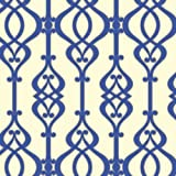 Arthouse Sophie Conran Reflections Luxury Wallpaper Wallpaper Balustrade Sapphire 950603 by Sophie Conran Wallcoverings