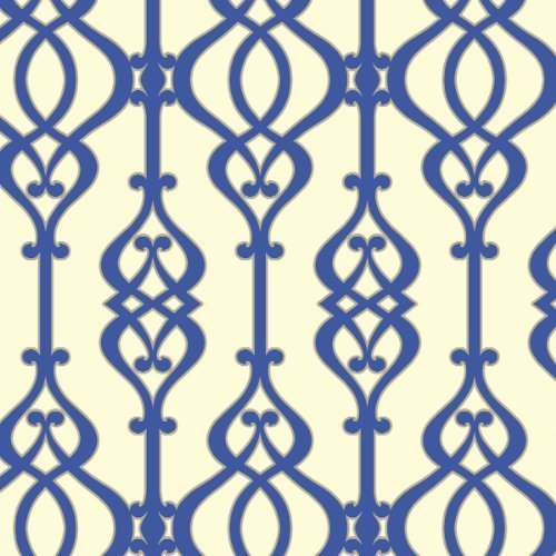 Arthouse Sophie Conran Reflections Luxury Wallpaper Wallpaper Balustrade Sapphire 950603 by Sophie Conran Wallcoverings by Arthouse (Image #1)