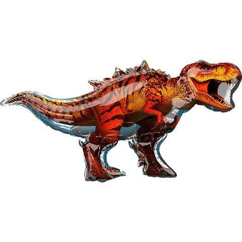 Jurassic World T-Rex Dinosaur Super Shape Foil - Shape World Super
