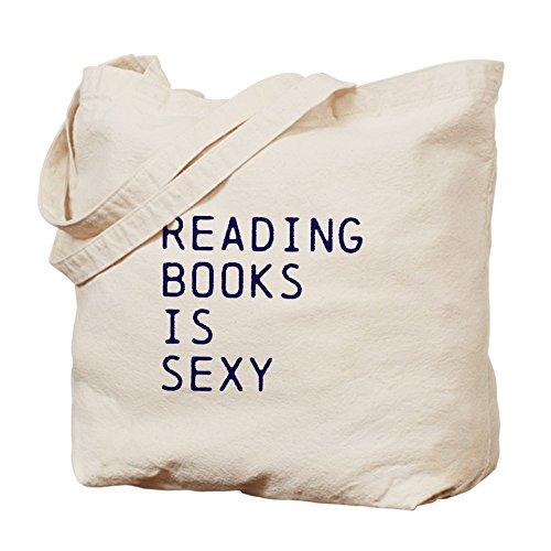 CafePress–Leggere libri è sexy–Borsa di tela naturale, panno borsa per la spesa