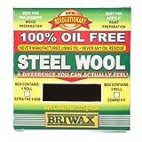 Briwax Oil Free Steel Wool 0, 225g Roll