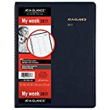 AT-A-GLANCE Weekly Appointment Book / Planner 2017, 8-1/4 x 10-7/8