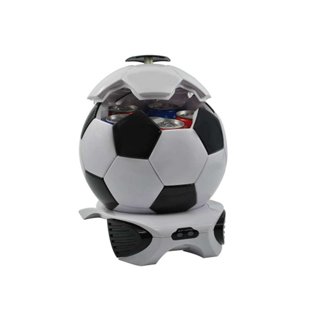 Portable 3.5-liter Football Car Refrigerator Heating And Cooling Outdoor Mini Refrigerator