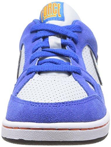 Nike Son of Force BP Scarpe sportive, Unisex - bambino Pr Pltnm/Blk-hypr Cblt-tr Yllw