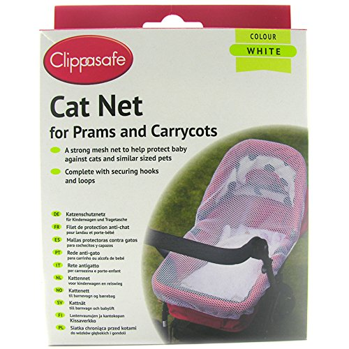 Clippasafe Pram & Carrycot Cat Net Clippasafe Ltd CL180 Baby Stroller
