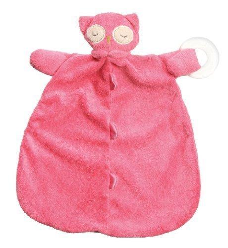Angel Dear Blankie Teether Hot Pink Owl by Angel Dear by Angel Dear