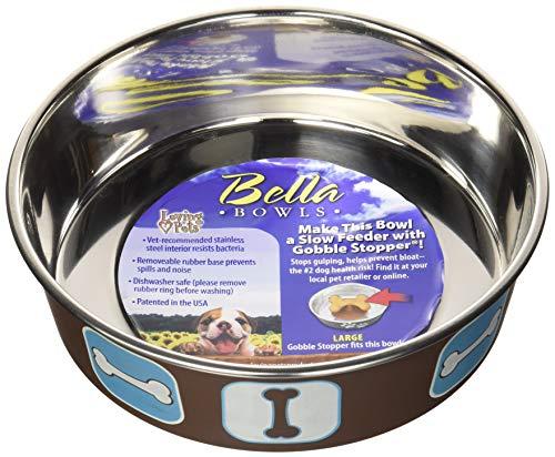 Cheap Loving Pets Cosmopolitan Bella Bowl, Large, Blue
