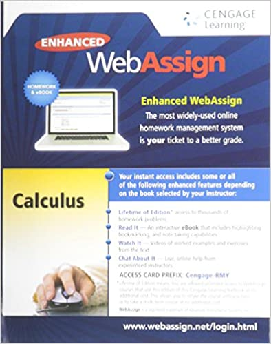 Enhanced webassign printed access card for calculus multi term enhanced webassign printed access card for calculus multi term courses life of edition 1st edition 1st edition fandeluxe Gallery