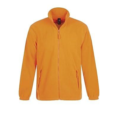 SOL´S Fleecejacket North, Größe:XXL, Farbe:Neon Orange
