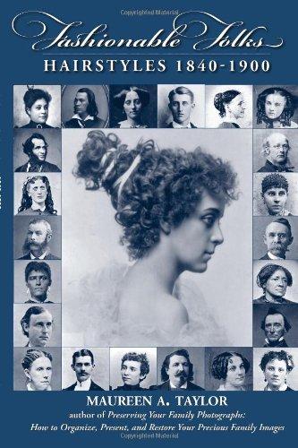 Download Fashionable Folks Hairstyles 1840-1900 pdf epub
