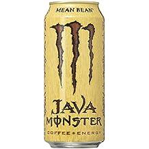 Java Monster, Mean Bean, 15 Ounce (Pack of 12)