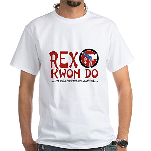 CafePress - Rex Kwon Do White T-Shirt - 100% Cotton T-Shirt, Crew Neck, Comfortable and Soft Classic White Tee with Unique Design