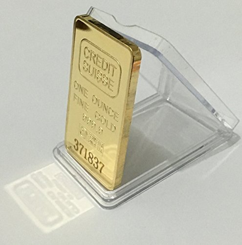 One Ounce Fine Gold Credit Suisse 1 Oz Gold Bar Replica Serialized   Shipped From Usa