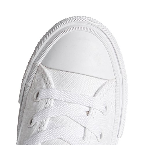 Converse Chuck Taylor All Star II Junior White Textile Trainers White