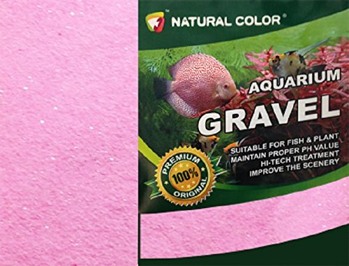 All Pond Solutions Aquarium Gravel Pink 0.4-0.6 mm 5 Kg