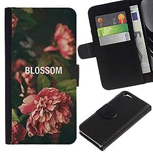 All Phone Most Case / Oferta Especial Cáscara Funda de cuero Monedero Cubierta de proteccion Caso / Wallet Case for Apple Iphone 6 // Begonia Vignette Green Nature