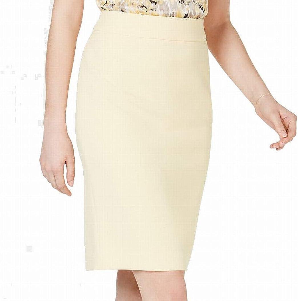 Kasper Womens Crepe Office Skirt