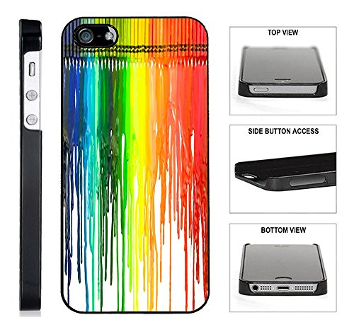 [TeleSkins] - Dripping Colors Crayon Art - iPhone 4 / 4S ...