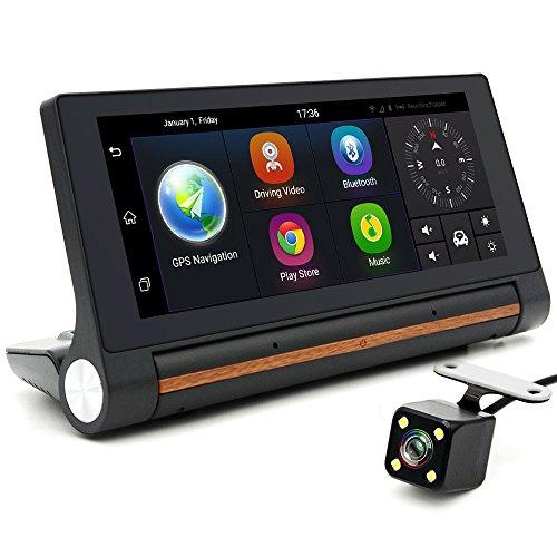 junsun 7 inch android car dvr gps camera 3g bluetooth dash cam video auto recorder registrator. Black Bedroom Furniture Sets. Home Design Ideas