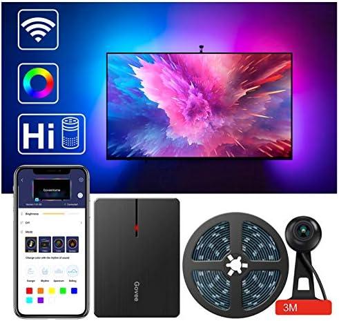 LED TV Backlights Govee WiFi TV Backlights Kit With Camera TV  Strip Lights NEW