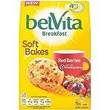 Belvita Soft Bakes Red Berries 250g - (Belvita) ソフトは、赤い果実の250グラムを焼きます [並行輸入品]