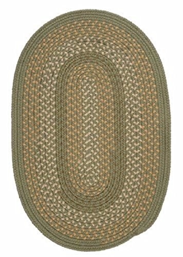Ambiant Olive Oval GT60 Indoor/Outdoor Green 12x15 - Area Rug