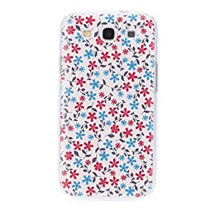SUMCOM Lovely Flower Pattern Embossed Hard Case for Samsung Galaxy S3 I9300