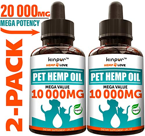 2 Pack Hemp Oil
