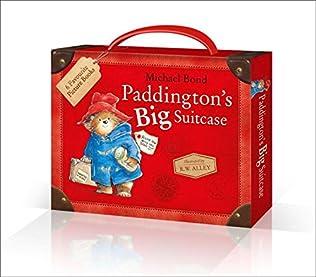 book cover of Paddington\'s Big Suitcase