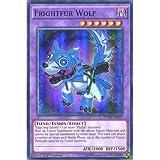 YuGiOh : FUEN-EN021 1st Ed Frightfur Wolf Super Rare Card - ( Yu-Gi-Oh! Single Card )