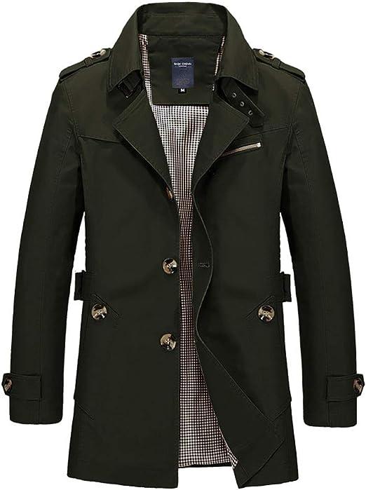メンズジャケット、春と秋の新しいメンズウインドブレーカーコートメンズジャケット