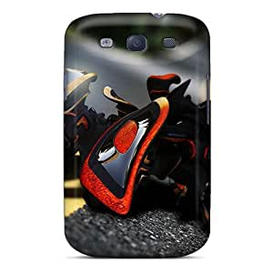 Excellent Design 3d Street Art Phone Cases For Galaxy S3 Premium Tpu Cases