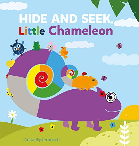 Book Cover: Hide and Seek, Little Chameleon