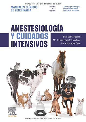 Anestesiología Y Cuidados Intensivos: Manuales clínicos de Veterinaria por Granados Machuca, María del Mar,Navarrete Calvo, Rocío,Muñoz Rascón, Pilar,Morgaz Rodríguez, Juan,Galán Rodríguez, Alba