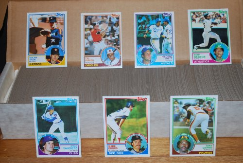 1983 Topps Baseball Complete Set (792 Cards) (Tony for sale  Delivered anywhere in USA