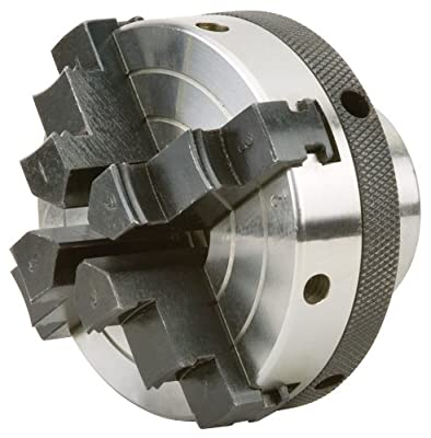Woodstock D4054 3-Inch 4 Jaw Chuck 1-Inch by 8 TPI by WOODSTOCK