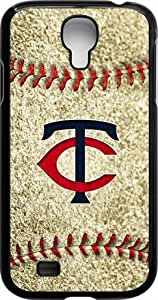 OTTHVE - MLB Team Logo, Minnesota Twins Logo Samsung GALAXY S4 Cases (Black) - Minnesota Twins 3