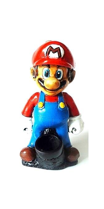 Amazon com: Handmade Tobacco Mario Figurine Smoking Pipe