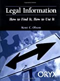 Legal Information, Kent Olson, 0897749618