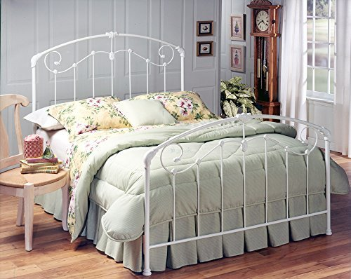- Hillsdale Furniture 325BK Maddie Bed Set, King, Glossy White