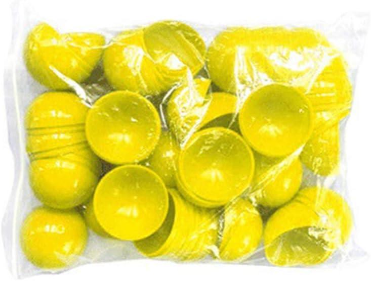 Amosfun Pong de la Cerveza 25pcs Bolas de plástico de formación Mayor de Ping Pong Bolas Avanzada Pelota de Tenis de Mesa para la práctica del Juego decoración del Partido 40mm