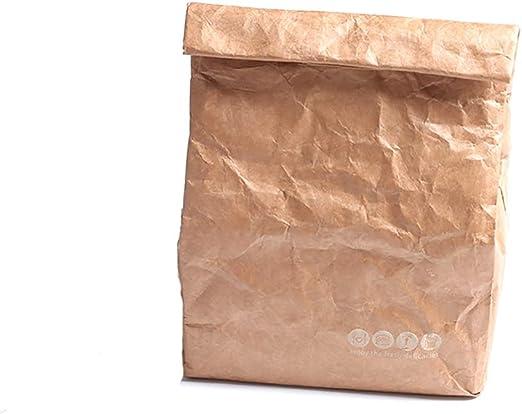 Bolsa de almuerzo Papel ambiental Dupont Película de aluminio Caja ...