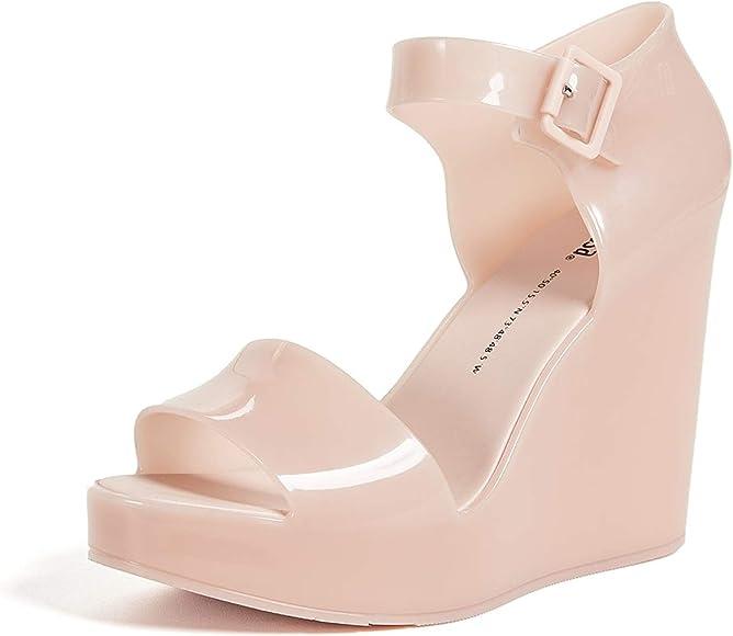 Mar Wedge Sandals, Light Pink